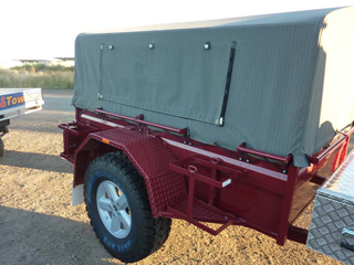 Canvas Top Trailers